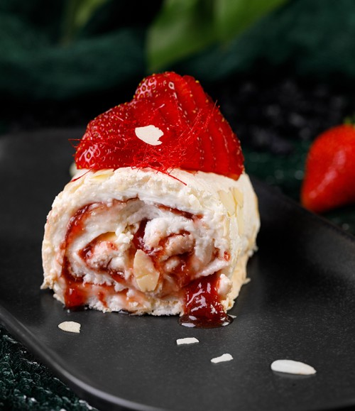 strawberry-meringue
